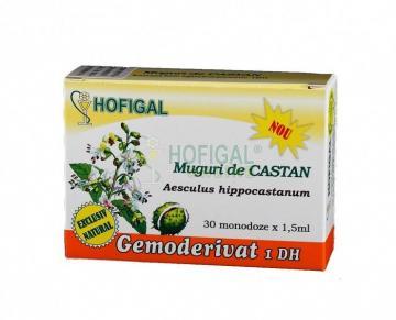 Gemoderivat Muguri De Castan Sălbatic 30 monodoze*1.5 ml
